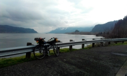 A moody Columbia Gorge