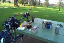 Late Afternoon Coffee Club, Farragut Park
