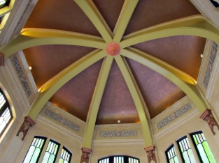 Vista House ceiling