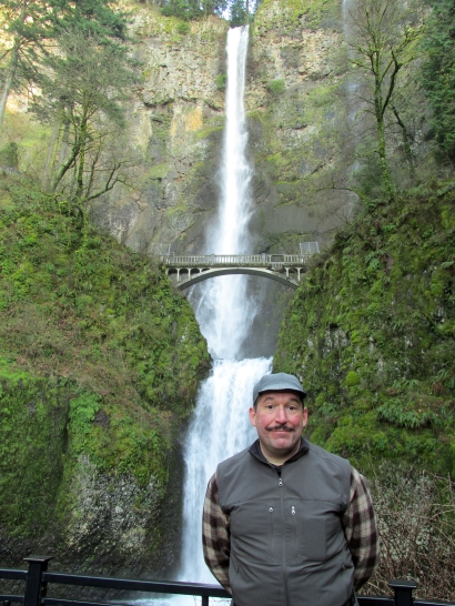 Dork at falls.