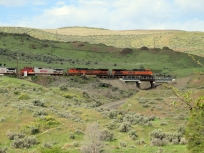 BNSF freight.