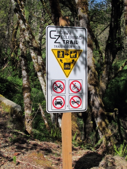 Crown Zellerbach Trail.