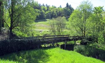 Old US 30 bridge.
