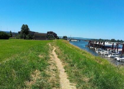 Levee path