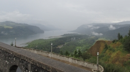 The Gorge in the rain...