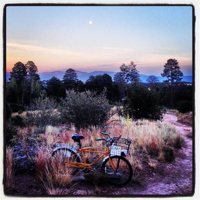 Tarik Saleh's Boulder-era Heavy Duti, somewhere near Los Alamos.