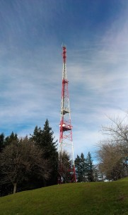 Council Crest radio tower