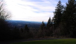 The view east toward the Tualatin Valley.