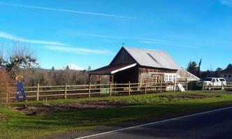 Hood and barn.