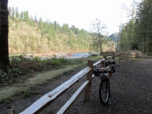 Sandy River at Oxbow Park.