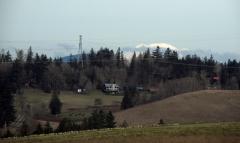 The elusive Mount Adams!
