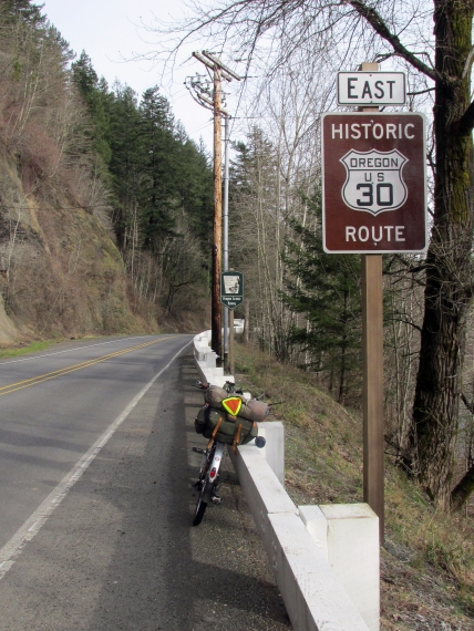 On the Historic Highway.