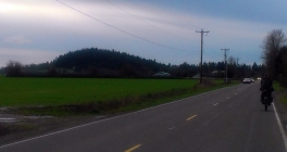 The butte of Butteville.