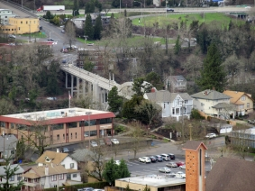 Oregon City Bridge.
