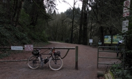 Thurman St trailhead