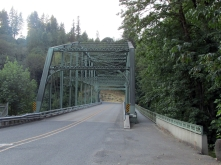 Lusted Bridge over the Sandy River