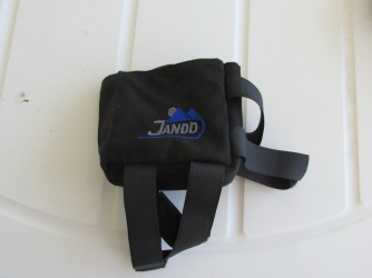 Jandd small top tube bag