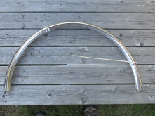 Velo Orange steel 700C rear fender