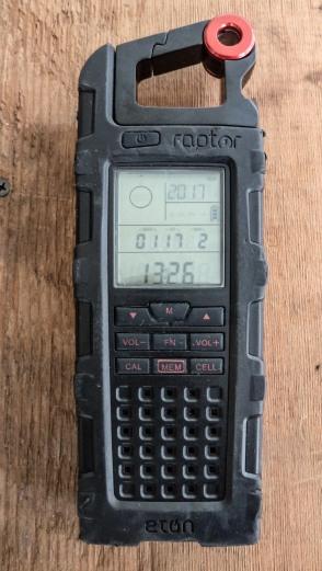 Eton Raptor radio.