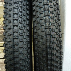 "Kenda Small Block Eight Sport tires, 26"" x 2.10"""