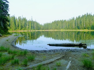Bear Lake, where we camped